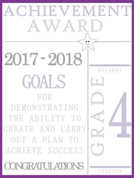 Grade 4 Achievement Awards