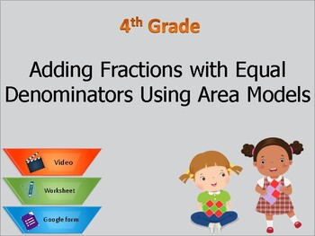 Grade 4: Adding and subtracting fractions with equal denominators
