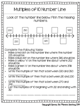 Grade 4 Addition and Subtraction Strategy- Making Tens with Hundreds