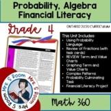 Grade 4 Algebra, Probability and Financial Unit 8 (Ontario Math Curriculum 2020)