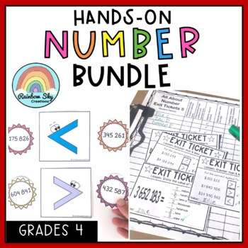 Grade 4 All About Numbers BUNDLE