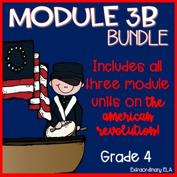 Grade 4 ELA Module 3B Student Workbook BUNDLE