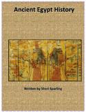 Ancient Egypt Language Test Prep and Social Studies Unit