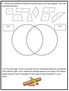 Grade 4 Angles, 2D/3D Geometry Assessment