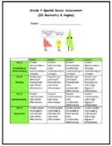Grade 4 Spatial Sense (2D shapes, angles) Assessment - 202