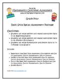 Grade 4 - Basic Facts Progression Assessment