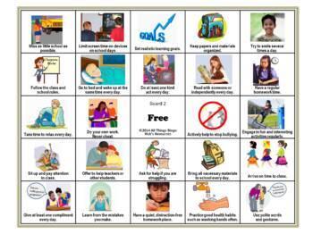 Bingo Games Grade 4
