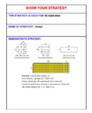 Grade 4: Bridges Strategies/unit