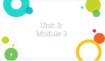 4th Grade Bridges in Mathematics Unit 3: Module 3