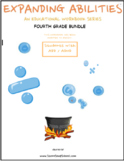 Grade 4 Bundle For Students with ADD/ADHD Expanding Abilities Series