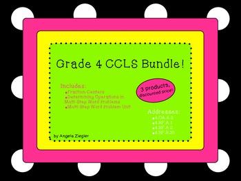 4th Grade Common Core Math Bundle!
