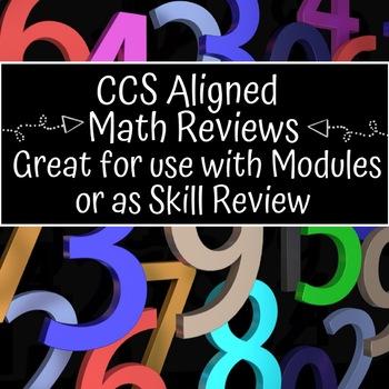 Grade 4 CCS Aligned Math Reviews and Answer Keys