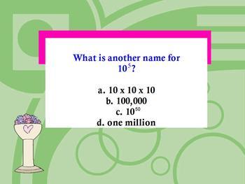 Grade 4 CCSS Aligned Jeopardy: Big Numbers, Estimation, & Computation Promethean