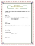 Grade 4 (CCSS): Big-Bank of Mathematics Exercises and Worksheets