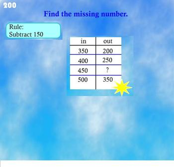 Grade 4 CCSS Everyday Math Unit 3 Jeopardy: Multiplication & Division SMARTBOARD