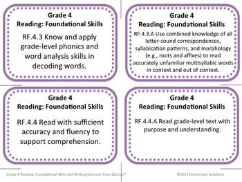Task Cards - EDITABLE Open-Ended Writing Tasks - Grade 4