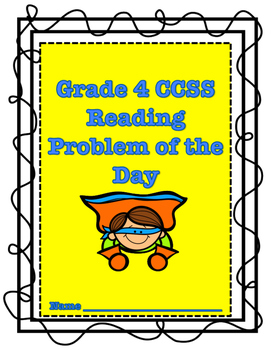 Grade 4 CCSS Reading Problem of the Day