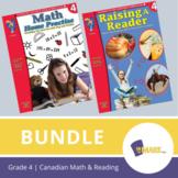 Grade 4 Canadian Math & Reading Practise