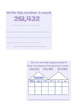 Grade 4 Chapter 1 Go Math