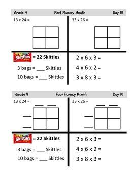 Grade 4 Common Core Fluency Resources