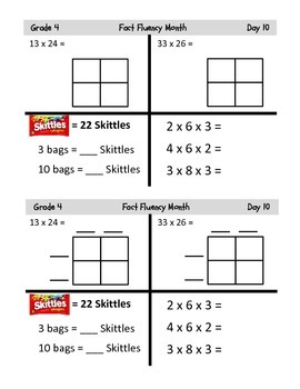Grade 4 Common Core Fluency Resources