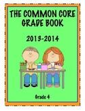 Common Core Grade Book - GRADE 4