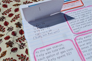 Grade 4 Common Core Interactive Notebook Operations and Algebraic Thinking