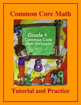 Grade 4 Common Core Math: Add & Subtract Fractions - Tutorial & Practice