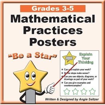 Grade 4 Common Core Math Communication Bundle (Posters, Goal Signs, Checklists)