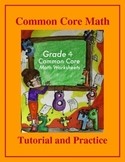 Grade 4 Common Core Math: Factors and Multiples - Tutorial and Practice