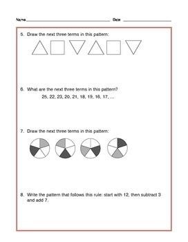Grade 4 Common Core Math: Generating & Analyzing Patterns - Tutorial & Practice