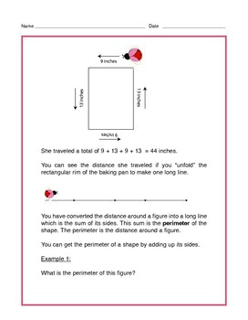 Grade 4 Common Core Math: Perimeter & Area of Rectangles - Tutorial & Practice
