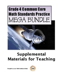 Grade 4 Common Core Math Standards Practice BUNDLE