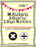 Grade 4 Common Core Math Three Part Lesson Multiplication - 2 Digit by 1 Digit