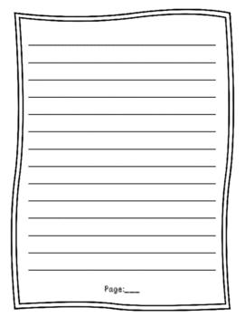 Grade 4 Common Core Personal Narrative Final Draft Paper