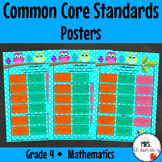 Grade 4 Common Core Standards Posters {Mathematics} Owl Theme