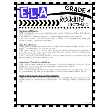 Grade 4 Common Core State Standards