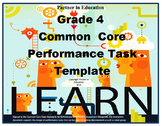 Grade 4: Common Core/PARCC Paired Text Performance Task Template