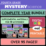 Grade 4 | Complete Mystery Science ENTIRE YEAR Bundle | Di