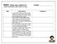Grade 4 Curriculum Checklist - Anecdotal Notes Organizer (