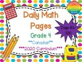 Grade 4 Daily Math Days 81-100