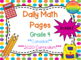 Grade 4 Daily Math Bundle