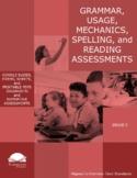 Grade 5 Diagnostic Grammar, Usage, Mechanics, and Spelling Assessments