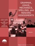 Grade 6 Diagnostic Grammar, Usage, Mechanics, and Spelling Assessments