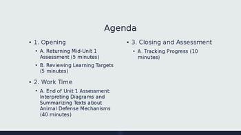 Grade 4 EL Module 2 Unit 1 Lesson 10: End of Unit 1 Assessment PPT