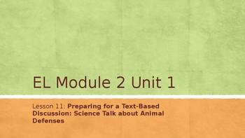 Grade 4 EL Module 2 Unit 1 Lesson 11