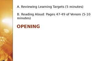 Grade 4 EL Module 2 Unit 1 Lesson 8 PowerPoint