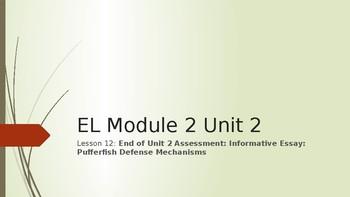 Grade 4 EL Module 2 Unit 2 Lesson 12