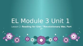 Grade 4 EL Module 3 Unit 1 Lesson 2 Powerpoint