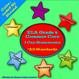 Grade 4 ELA  I Can Statements Common Core